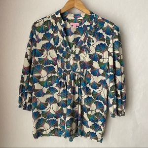 Lilly Pulitzer print blouse